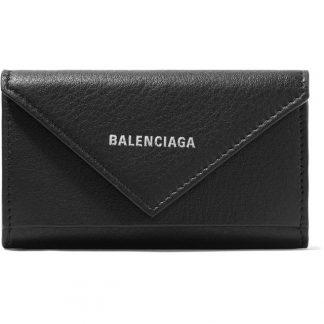 112cb1bb9d76 Canada Balenciaga Knockoff Paper Printed Textured-leather Key Case Wallet  replica balenciaga triple s