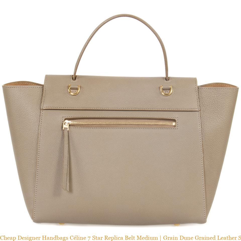 fd175fec805d Cheap Designer Handbags Céline 7 Star Replica Belt Medium
