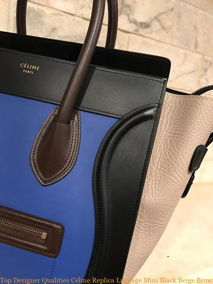 25328a6502 Top Designer Qualities Céline Replica Luggage Mini Black Beige Brown Suede Tricolor  Blue Leather Tote celine aaa replica